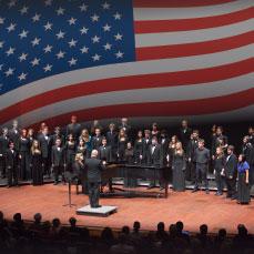 Cal Poly Choir members