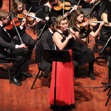 Symphony with soloist