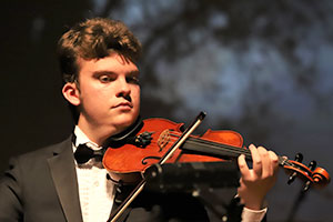 Symphony violinist