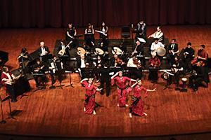 Arab Music Ensemble musicians