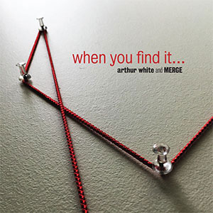 Compact disc cover for 'when you find it'